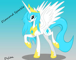 Princess Diamond Sparkle by I-TwistedFury-I
