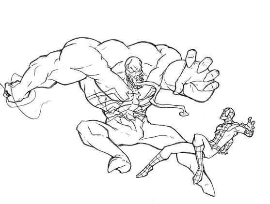 Stroo7taxa spiderman 3 venom vs spiderman for Spiderman disegni da colorare