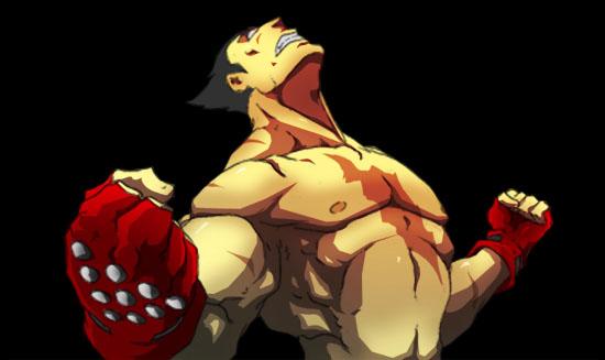 kazuya evil power by Anny-D