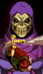 he-man colored by Anny-D