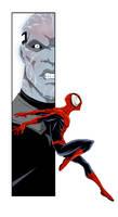Spiderman Electro Colored