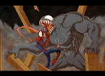 Venom Vs Spiderman fight