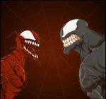 Carnage Venom  colored