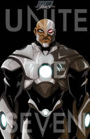 Cyborg unite the seven jam by Anny-D