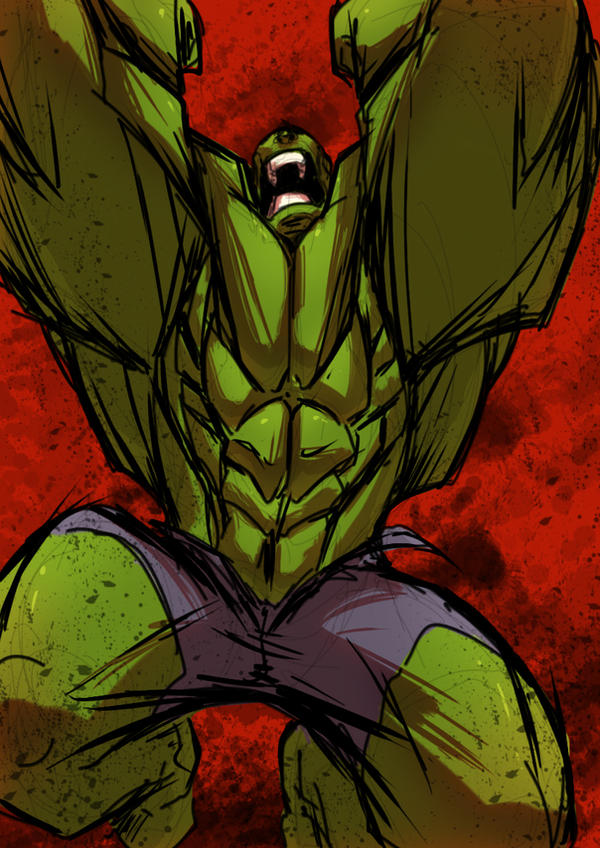 Hulk Smash!! by Anny-D