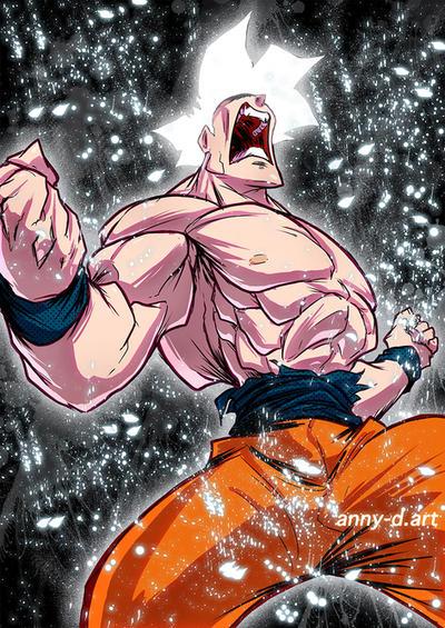 Goku Instinct by Anny-D
