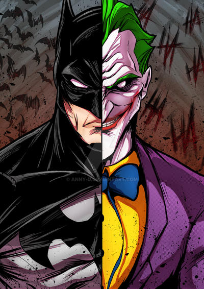 Bats And Joker by Anny-D