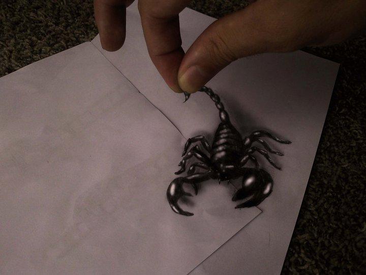 Scorpion by JJKAirbrush
