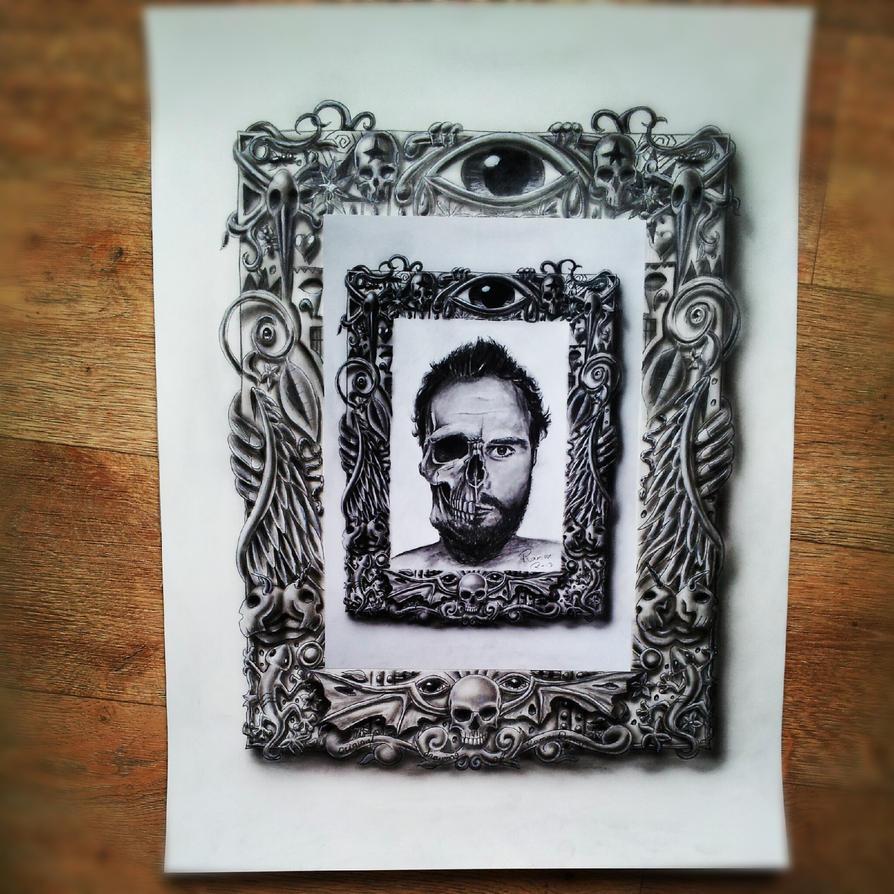 framed frame by jjkairbrush