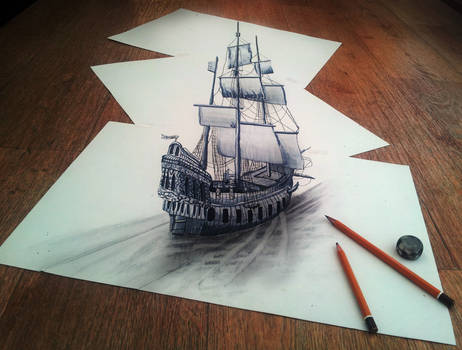 While Sailing Through the Thought of my Imaginatio