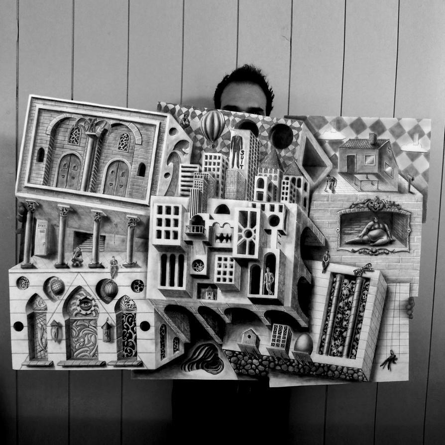 Piece of the World by JJKAirbrush