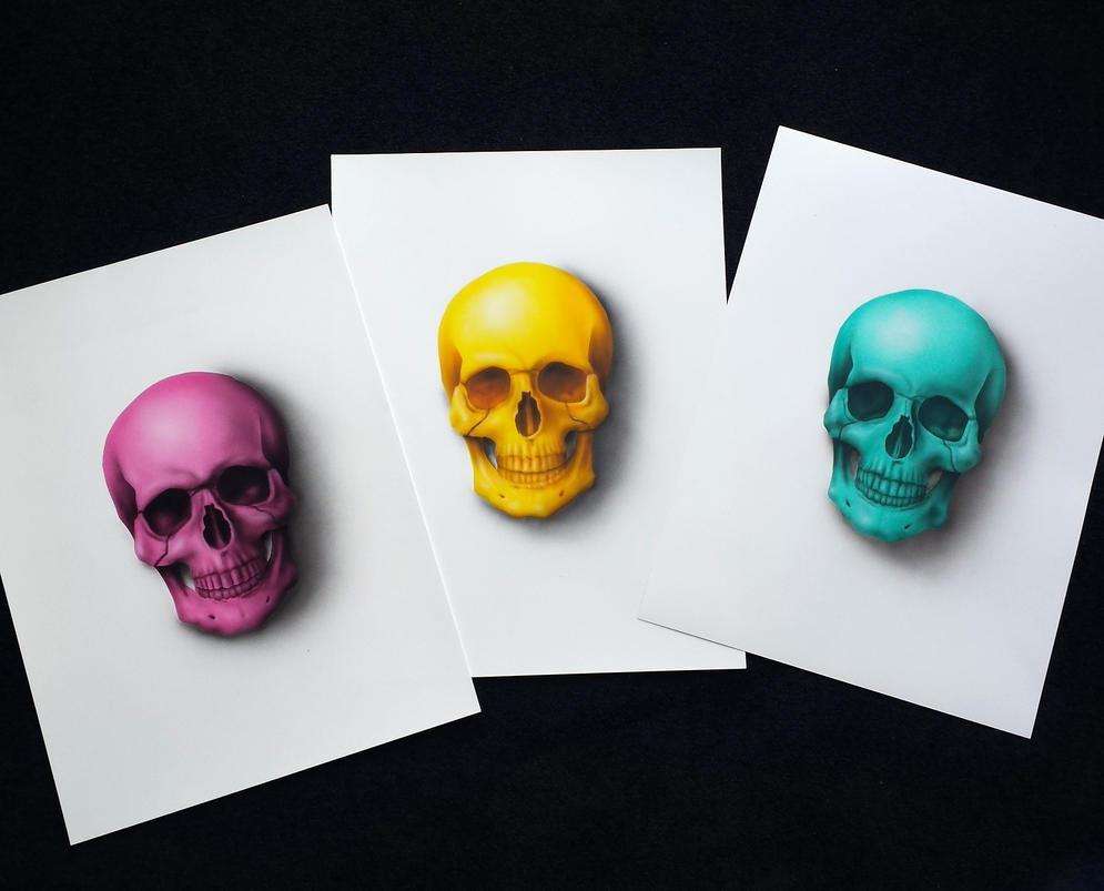 Skulls by JJKAirbrush