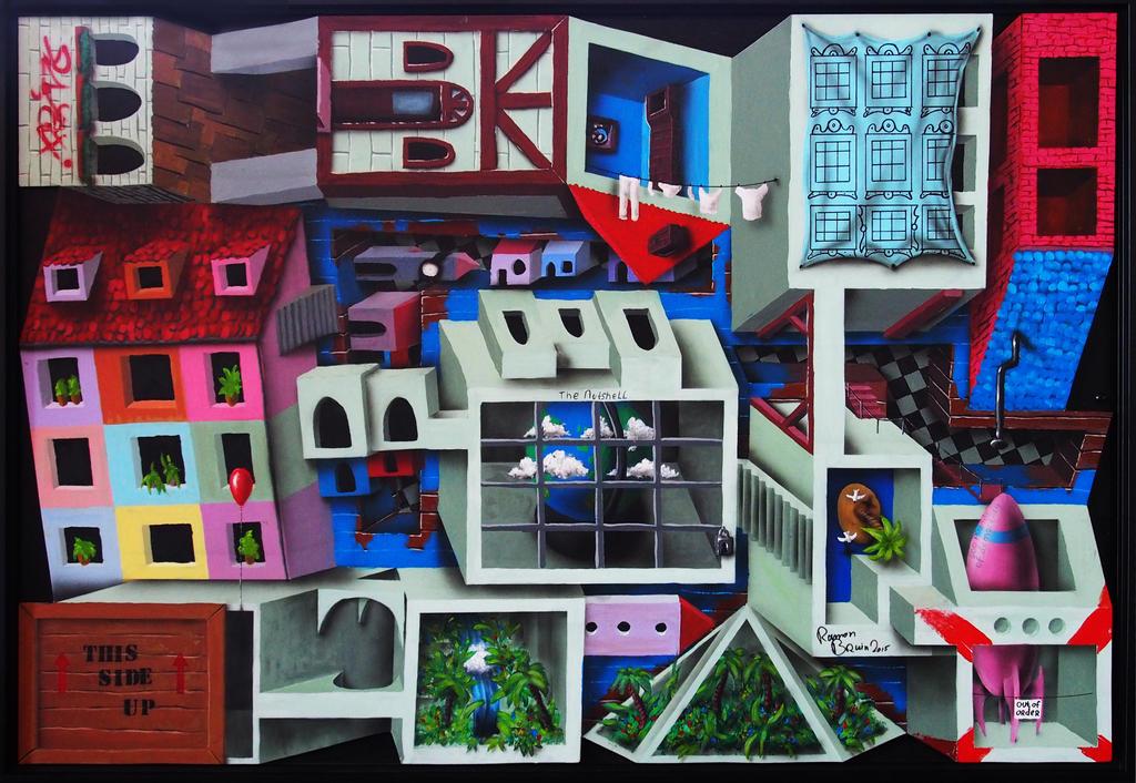The World in a Nutshell by JJKAirbrush