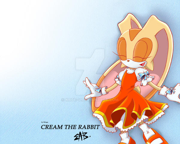 Cream the rabbit by Kate-V on DeviantArt