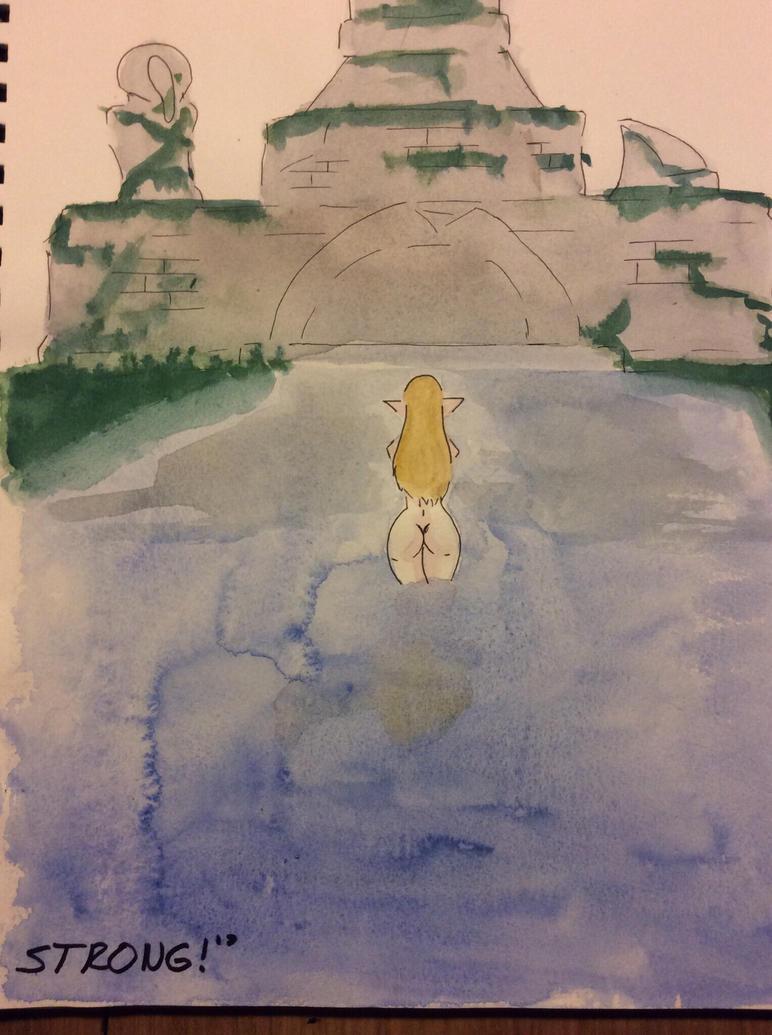 Zelda fanart #2 by Thelunaticpoet