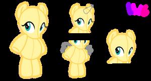 Pony Doll Base F2U