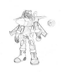 Jetman.EXE by Mechashinobi-X