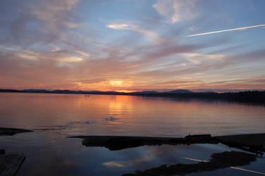 Raquette Lake Sunset 1 by rachapunk