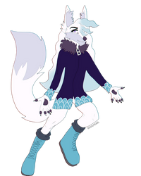 Pearl Anthro Form by ROGALPEARL