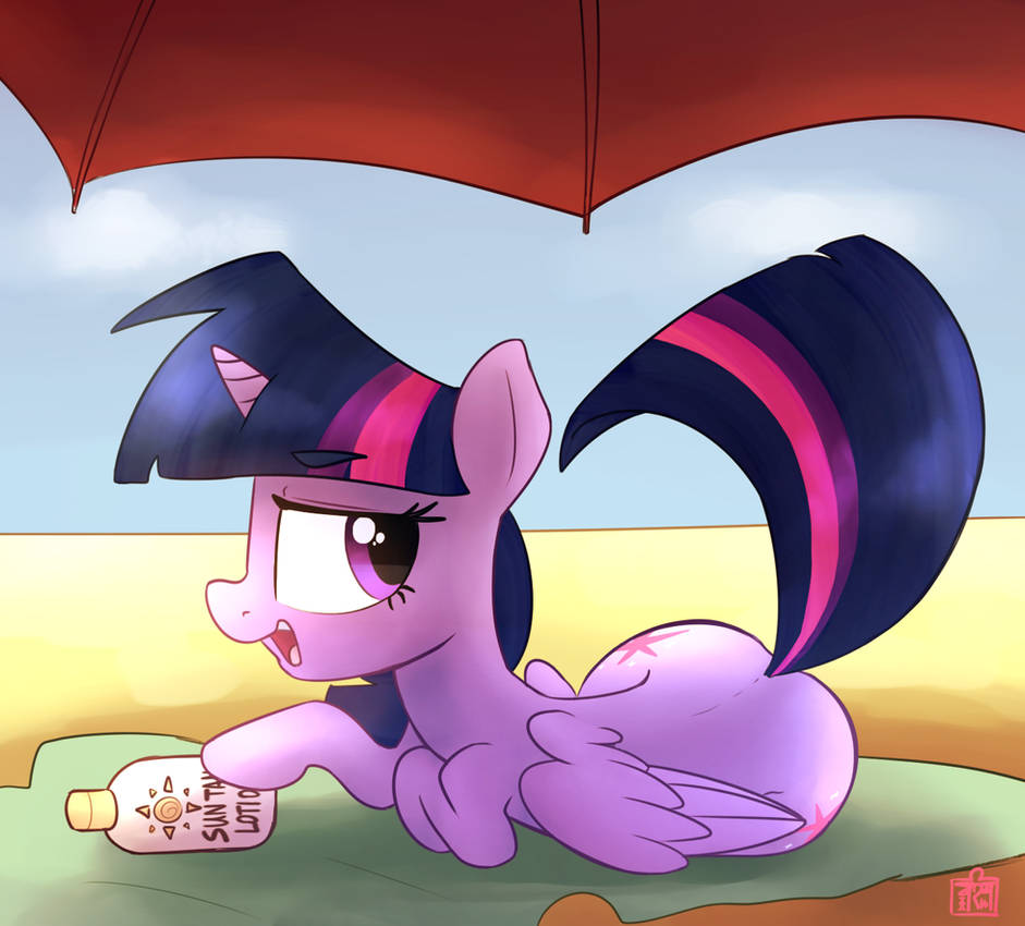 ATG Day 21: Pony at the Beach