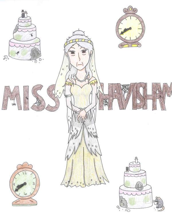 Miss Havisham by NelmaThyria on DeviantArt