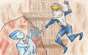 Sheik to the Rescue by NelmaThyria