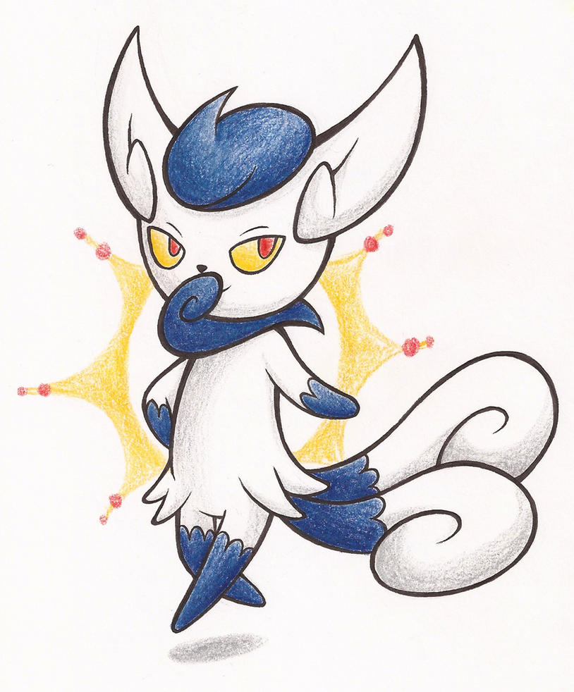 Meowstic by NelmaThyria