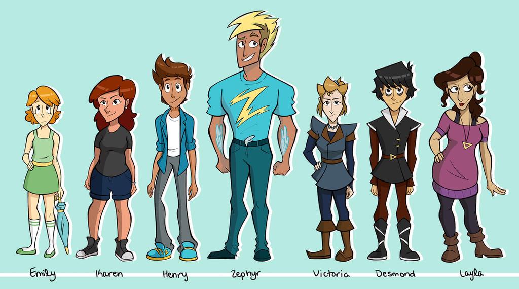 Heroic Line Up by NelmaThyria