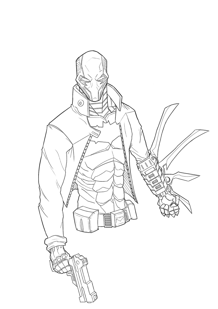 jason todd coloring pages - photo#5