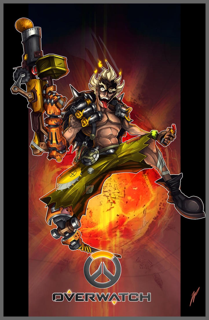 Junkrat - Overwatch by Puekkers