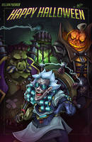 Overwatch Halloween by Puekkers