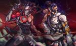 Genji and Hanzo - Overwatch