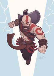 God of War by Puekkers