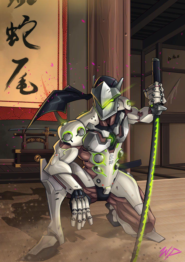 Genji Hanamura by Puekkers