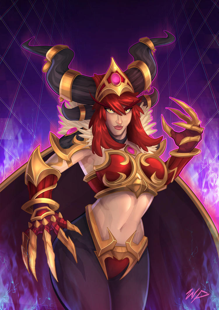 Heroes of the Storm Alexstraza by Puekkers