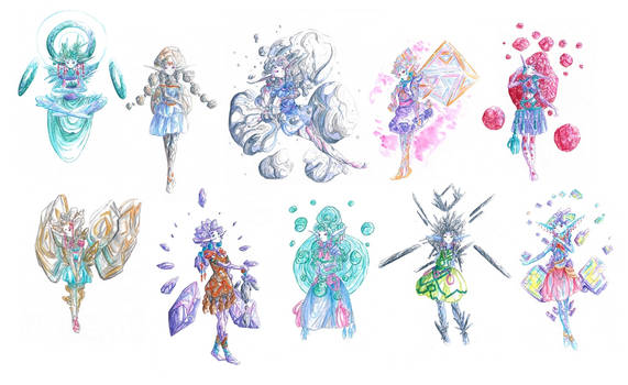Mineral girls