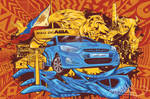 Hyundai ACCENT by peaceonearth888