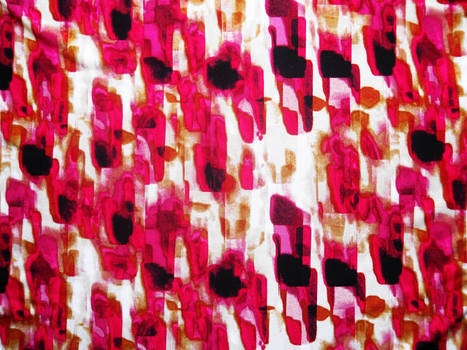 Pink and Black Abstract Fabric Texture