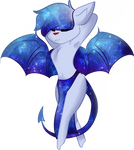 Art Trade: celestial-storms (+SPEEDPAINT) by OliveCow
