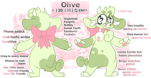 Olive // JAN 2019 // (more info in desc) by OliveCow