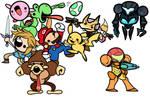 Lil' Smash Dudes Day 9 - Pikachu
