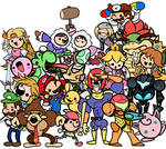 Lil' Smash Dudes Day 21 - Dr. Mario