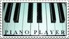 Piano Player - Stamp by LadyMarava