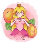 Peach Doodle