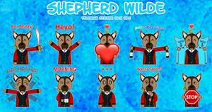 Shepherd Wilde Sticker Pack #1