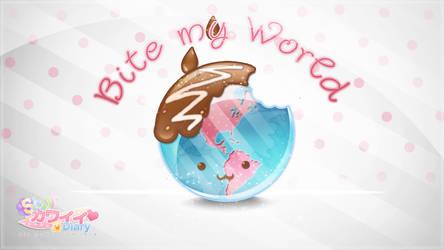 Bite My World! - (School Work) by Rinashu
