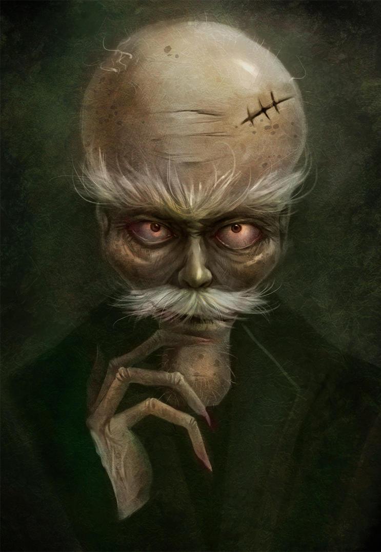 the evil professor by yangtianli