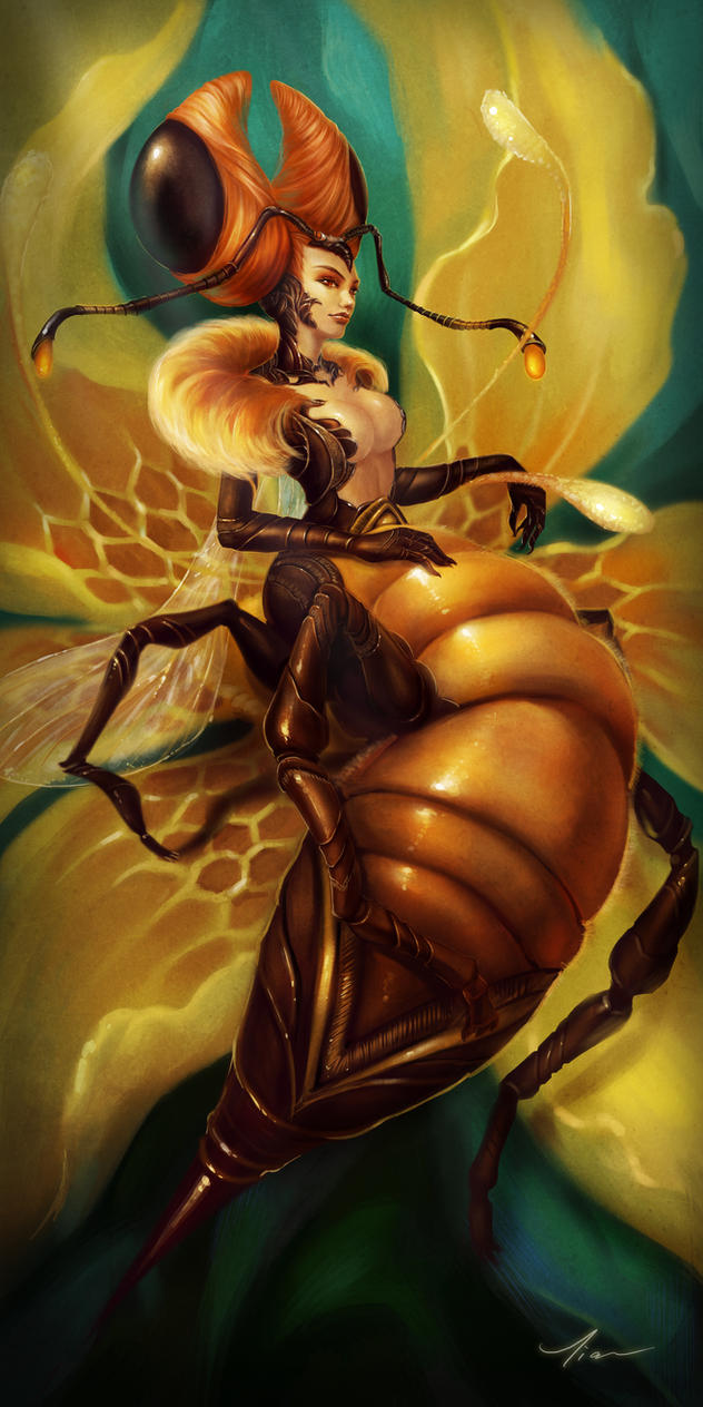 Queen Bee by yangtianli