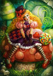 Clown Girl - Commission