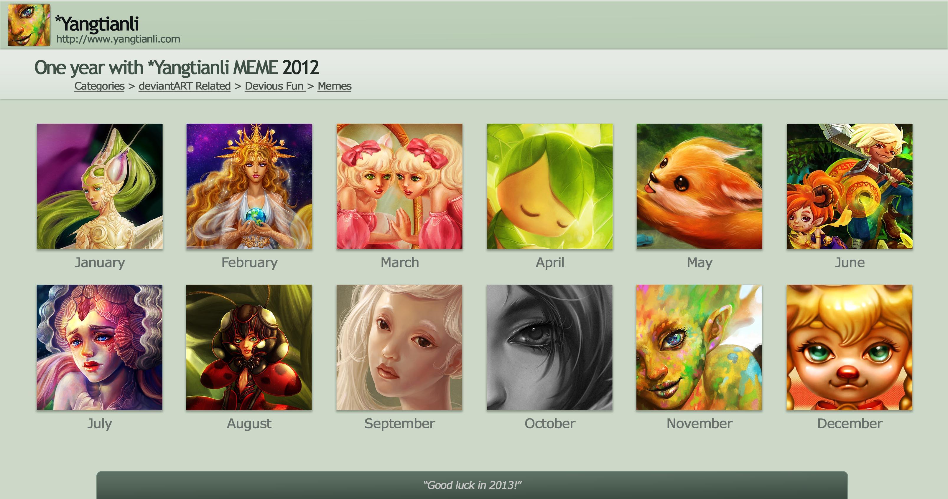 2012 summery meme by yangtianli